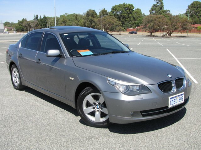 Used BMW 520d Steptronic, Maddington, 2009 BMW 520d Steptronic Sedan