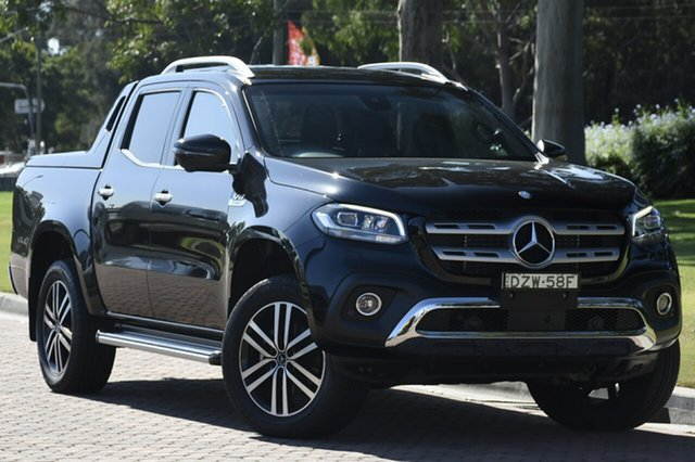 Demonstrator, Demo, Near New Mercedes-Benz X-Class X350d 7G-Tronic + 4MATIC Power, Southport, 2018 Mercedes-Benz X-Class X350d 7G-Tronic + 4MATIC Power Utility