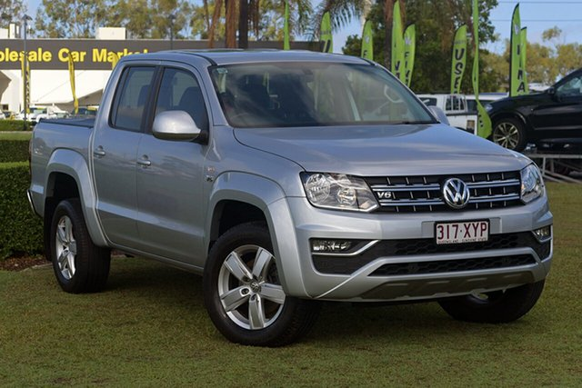 Discounted Used Volkswagen Amarok TDI550 4MOTION Perm Sportline, Warwick Farm, 2017 Volkswagen Amarok TDI550 4MOTION Perm Sportline Utility