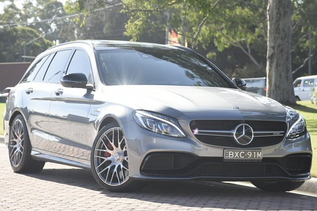 Discounted Used Mercedes-Benz C63 AMG Estate SPEEDSHIFT MCT S, Narellan, 2016 Mercedes-Benz C63 AMG Estate SPEEDSHIFT MCT S Wagon