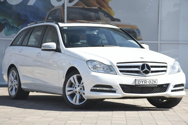 Discounted Used Mercedes-Benz C200 BlueEFFICIENCY Estate 7G-Tronic +, Warwick Farm, 2013 Mercedes-Benz C200 BlueEFFICIENCY Estate 7G-Tronic + Wagon