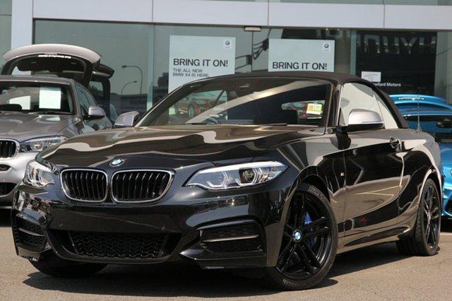 Demonstrator, Demo, Near New BMW 2 Series M240I, Brookvale, 2018 BMW 2 Series M240I Convertible
