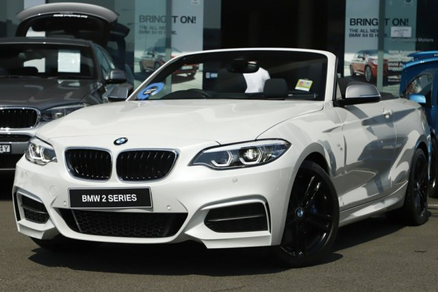Demonstrator, Demo, Near New BMW M240i M240I, Brookvale, 2018 BMW M240i M240I Convertible
