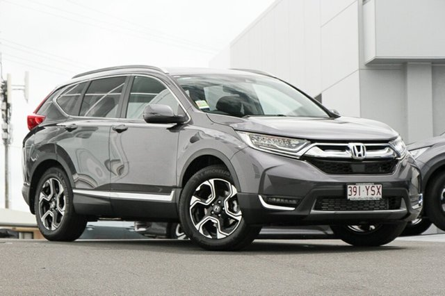 Demonstrator, Demo, Near New Honda CR-V VTi-LX 4WD, Indooroopilly, 2018 Honda CR-V VTi-LX 4WD Wagon