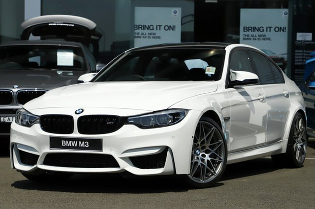 Demonstrator, Demo, Near New BMW M3 Pure, Brookvale, 2018 BMW M3 Pure Sedan