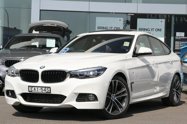 Demonstrator, Demo, Near New BMW 330i M Sport Gran Turismo, Brookvale, 2018 BMW 330i M Sport Gran Turismo Hatchback