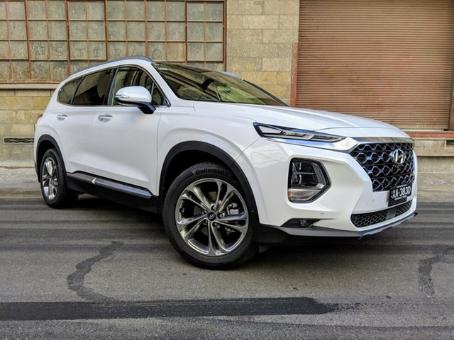 Demonstrator, Demo, Near New Hyundai Santa Fe Highlander, Cheltenham, 2019 Hyundai Santa Fe Highlander Wagon