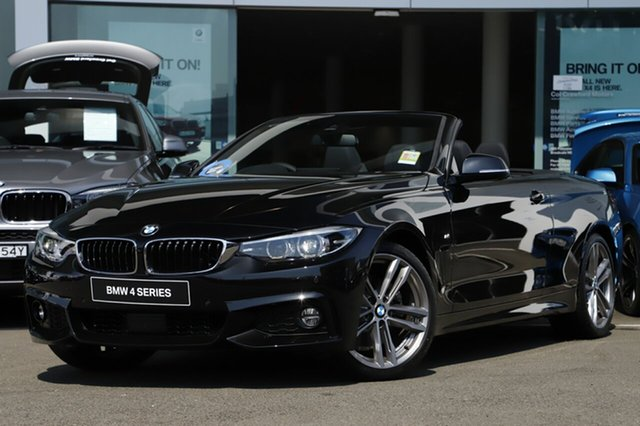 Demonstrator, Demo, Near New BMW 430i M Sport, Brookvale, 2018 BMW 430i M Sport Convertible