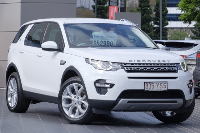 Used Land Rover Discovery Sport TD4 150 HSE, Newstead, 2017 Land Rover Discovery Sport TD4 150 HSE Wagon