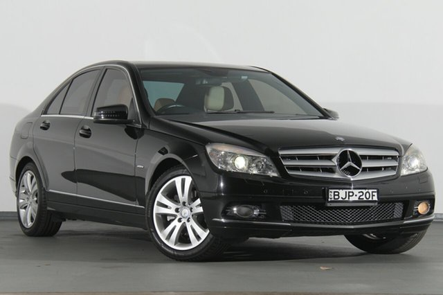 Used Mercedes-Benz C200 Kompressor Avantgarde, Southport, 2008 Mercedes-Benz C200 Kompressor Avantgarde Sedan