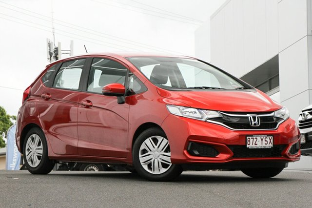 Demonstrator, Demo, Near New Honda Jazz VTi, Indooroopilly, 2018 Honda Jazz VTi Hatchback