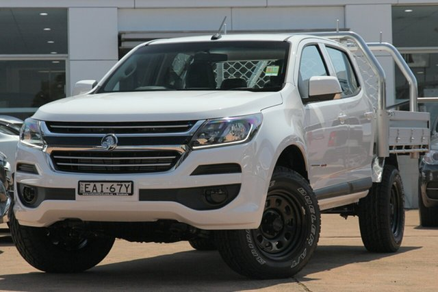 Demonstrator, Demo, Near New Holden Colorado 4X4 LS, Brookvale, 2018 Holden Colorado 4X4 LS Dual Cab Chassis