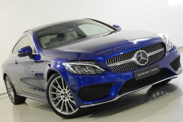 Used Mercedes-Benz C300 9G-Tronic, Warwick Farm, 2018 Mercedes-Benz C300 9G-Tronic Coupe
