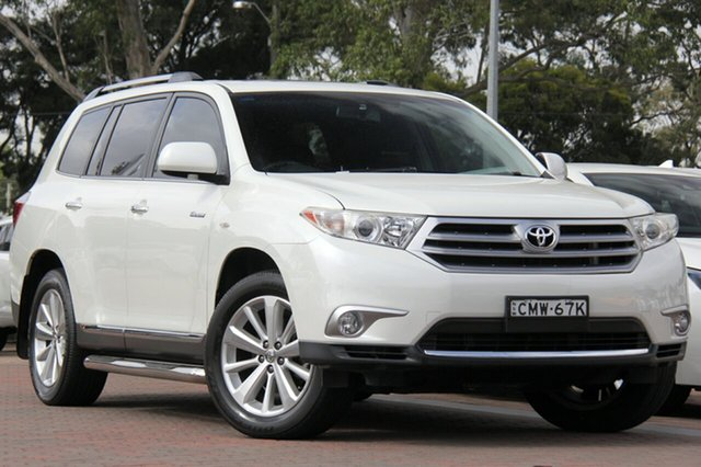 Used Toyota Kluger Grande AWD, Southport, 2013 Toyota Kluger Grande AWD SUV