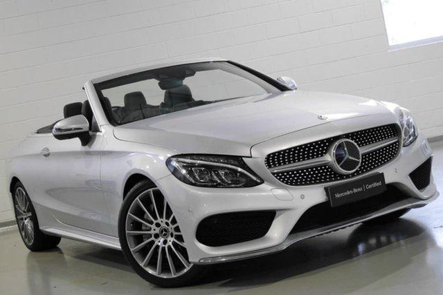 Used Mercedes-Benz C300 9G-Tronic, Warwick Farm, 2017 Mercedes-Benz C300 9G-Tronic Cabriolet
