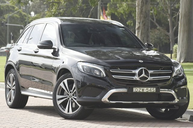 Demonstrator, Demo, Near New Mercedes-Benz GLC250 d 9G-Tronic 4MATIC, Southport, 2018 Mercedes-Benz GLC250 d 9G-Tronic 4MATIC SUV