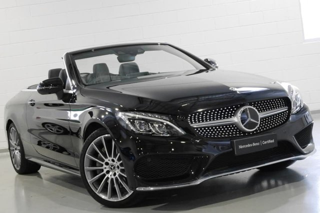 Used Mercedes-Benz C300 9G-Tronic, Chatswood, 2018 Mercedes-Benz C300 9G-Tronic Cabriolet