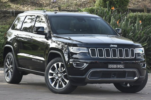 Discounted Demonstrator, Demo, Near New Jeep Grand Cherokee Limited, Warwick Farm, 2017 Jeep Grand Cherokee Limited SUV