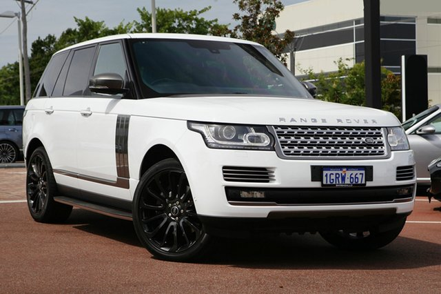 Used Land Rover Range Rover V8SC Autobiography, Osborne Park, 2013 Land Rover Range Rover V8SC Autobiography Wagon