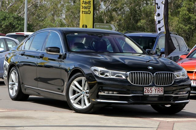 Used BMW 730d Steptronic, Caloundra, 2016 BMW 730d Steptronic Sedan