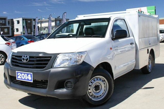 Discounted Used Toyota Hilux Workmate 4x2, Coburg North, 2014 Toyota Hilux Workmate 4x2 Cab Chassis