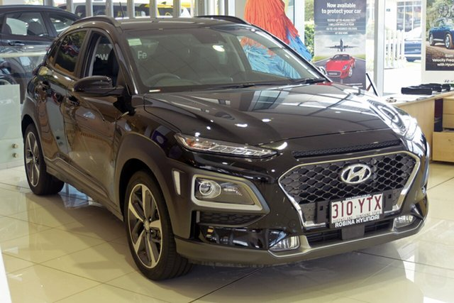 Demonstrator, Demo, Near New Hyundai Kona Highlander D-CT AWD, Southport, 2017 Hyundai Kona Highlander D-CT AWD Wagon