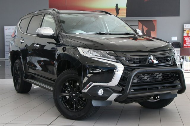 Demonstrator, Demo, Near New Mitsubishi Pajero Sport Black Edition, Bowen Hills, 2018 Mitsubishi Pajero Sport Black Edition Wagon