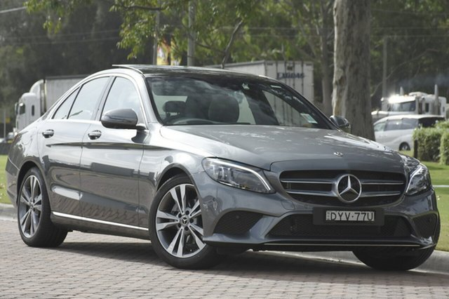 Demonstrator, Demo, Near New Mercedes-Benz C200 9G-Tronic, Narellan, 2018 Mercedes-Benz C200 9G-Tronic Sedan