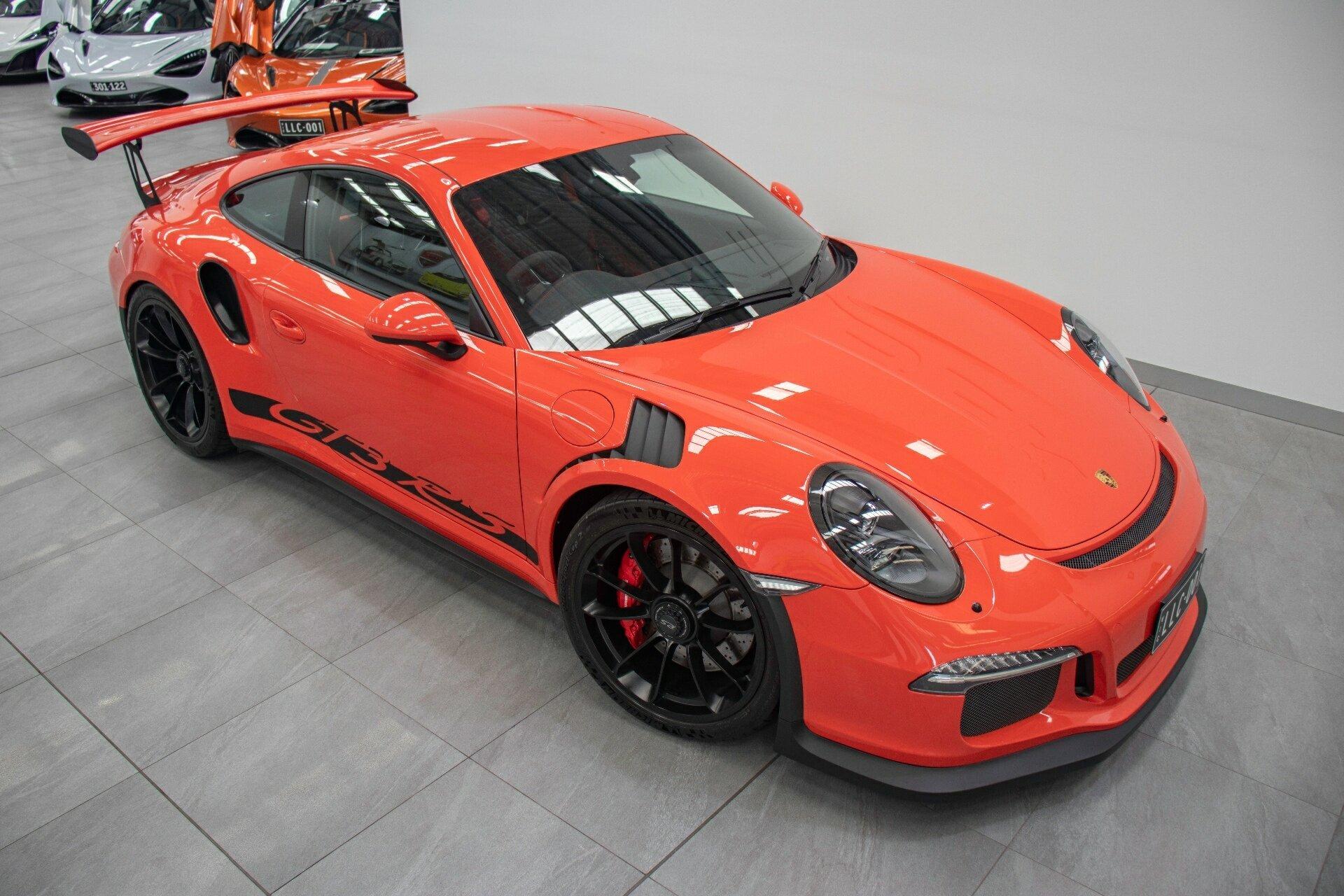 2016 Porsche 911 Gt3 Rs 991 My16