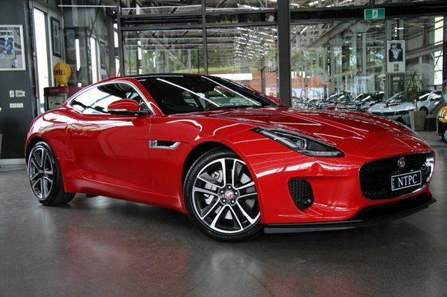 Used Jaguar F-TYPE 250kW Quickshift RWD, North Melbourne, 2017 Jaguar F-TYPE 250kW Quickshift RWD Coupe