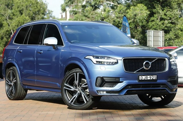 Used Volvo XC90 T6 Geartronic AWD R-Design, Warwick Farm, 2016 Volvo XC90 T6 Geartronic AWD R-Design Wagon