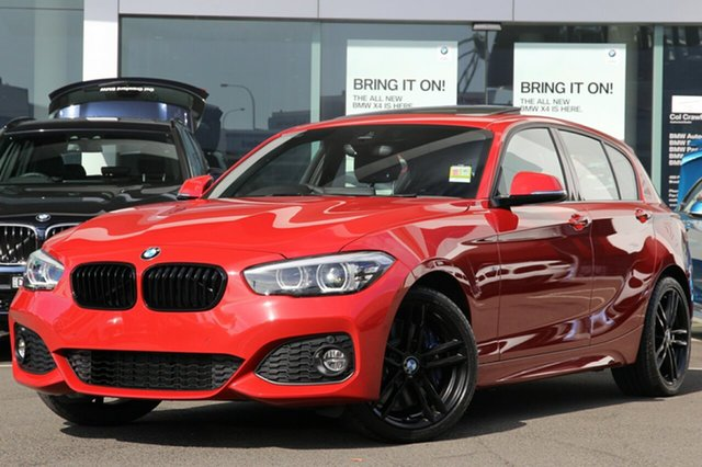 Demonstrator, Demo, Near New BMW 125i Shadow Edition, Brookvale, 2018 BMW 125i Shadow Edition Hatchback