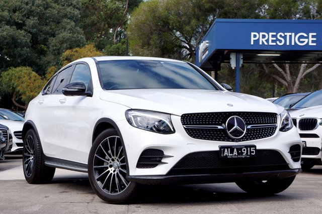 Used Mercedes-Benz GLC250 Coupe 9G-Tronic 4MATIC, Balwyn, 2016 Mercedes-Benz GLC250 Coupe 9G-Tronic 4MATIC Wagon