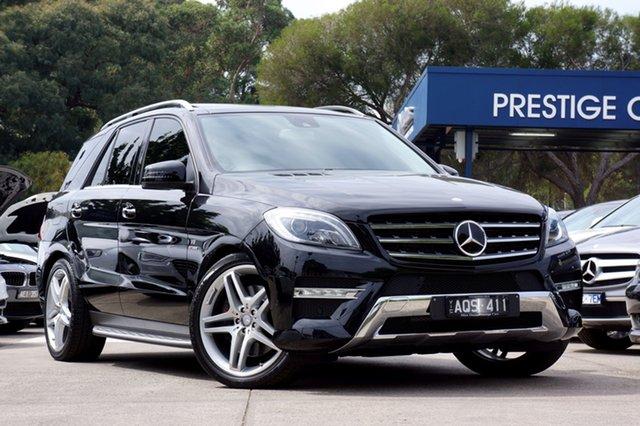 Used Mercedes-Benz ML500 7G-Tronic +, Balwyn, 2013 Mercedes-Benz ML500 7G-Tronic + Wagon