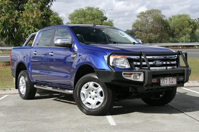 Used Ford Ranger XLT Double Cab, Indooroopilly, 2012 Ford Ranger XLT Double Cab Utility