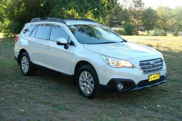 Used Subaru Outback 2.0D CVT AWD, Queanbeyan, 2016 Subaru Outback 2.0D CVT AWD Wagon