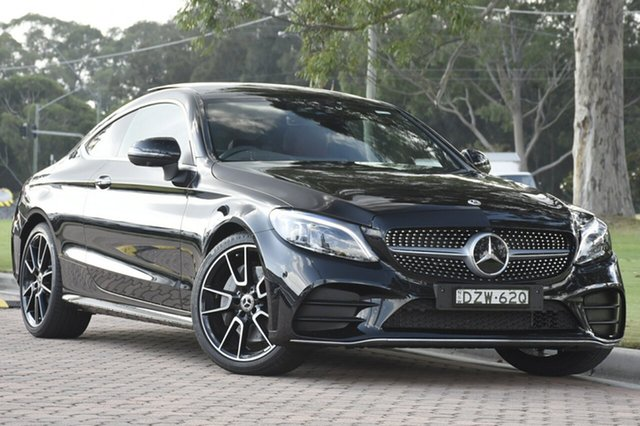 Discounted Used Mercedes-Benz C300 9G-Tronic, Warwick Farm, 2018 Mercedes-Benz C300 9G-Tronic Coupe