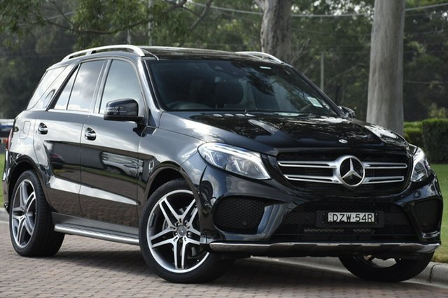 Demonstrator, Demo, Near New Mercedes-Benz GLE350 d 9G-Tronic 4MATIC, Warwick Farm, 2018 Mercedes-Benz GLE350 d 9G-Tronic 4MATIC SUV