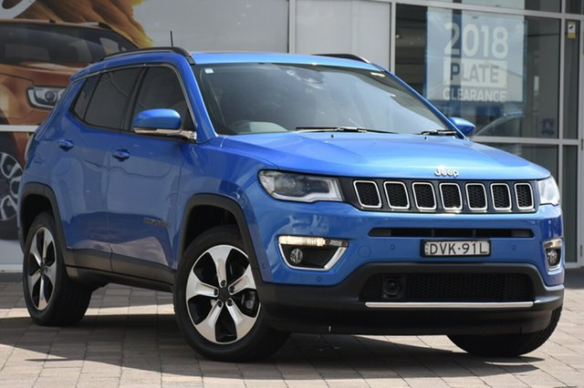 Used Jeep Compass Limited, Warwick Farm, 2017 Jeep Compass Limited SUV