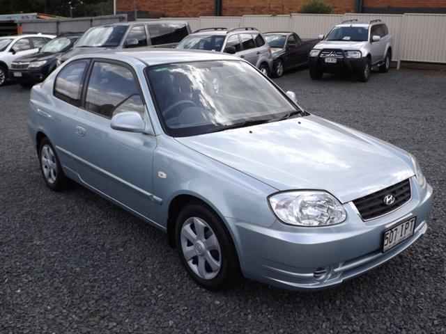 Used Hyundai Accent GL, Toowoomba, 2004 Hyundai Accent GL Hatchback