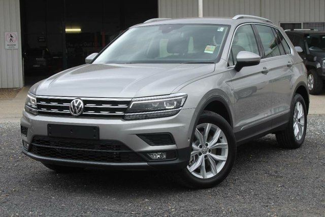 Demonstrator, Demo, Near New Volkswagen Tiguan MY19 VOLKSWAGEN TIGUAN 132TSI COMFORTLINE 7SP DSG WAGON (AD1, Warwick Farm, 2018 Volkswagen Tiguan MY19 VOLKSWAGEN TIGUAN 132TSI COMFORTLINE 7SP DSG WAGON (AD1 Wagon