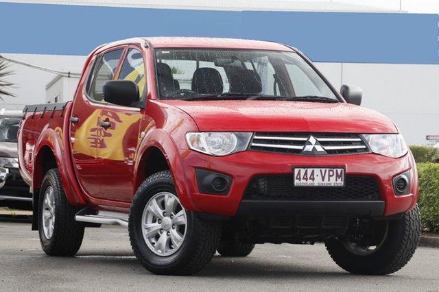 Used Mitsubishi Triton GLX Double Cab, Bowen Hills, 2015 Mitsubishi Triton GLX Double Cab Utility
