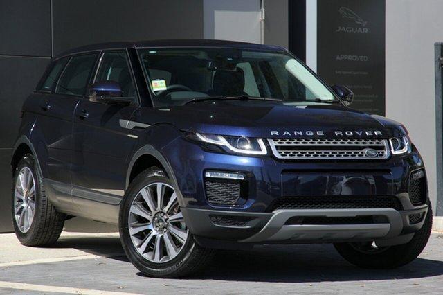 Demonstrator, Demo, Near New Land Rover Range Rover Evoque TD4 110kW SE, Campbelltown, 2018 Land Rover Range Rover Evoque TD4 110kW SE SUV