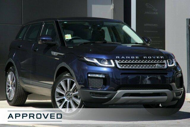 Demonstrator, Demo, Near New Land Rover Range Rover Evoque TD4 110kW SE, Narellan, 2018 Land Rover Range Rover Evoque TD4 110kW SE SUV