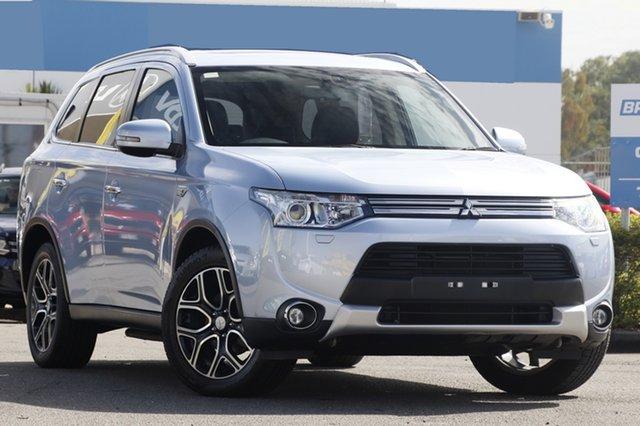 Used Mitsubishi Outlander PHEV AWD Aspire, Bowen Hills, 2014 Mitsubishi Outlander PHEV AWD Aspire Wagon