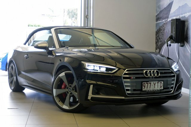 Demonstrator, Demo, Near New Audi S5 Tiptronic Quattro, Southport, 2018 Audi S5 Tiptronic Quattro Cabriolet