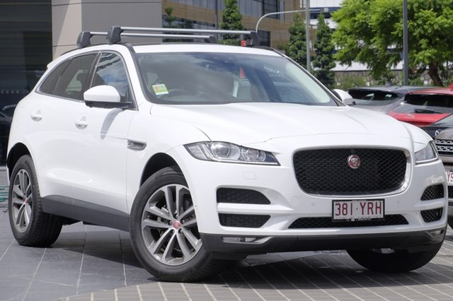 Demonstrator, Demo, Near New Jaguar F-PACE 20d AWD Prestige, Newstead, 2017 Jaguar F-PACE 20d AWD Prestige Wagon