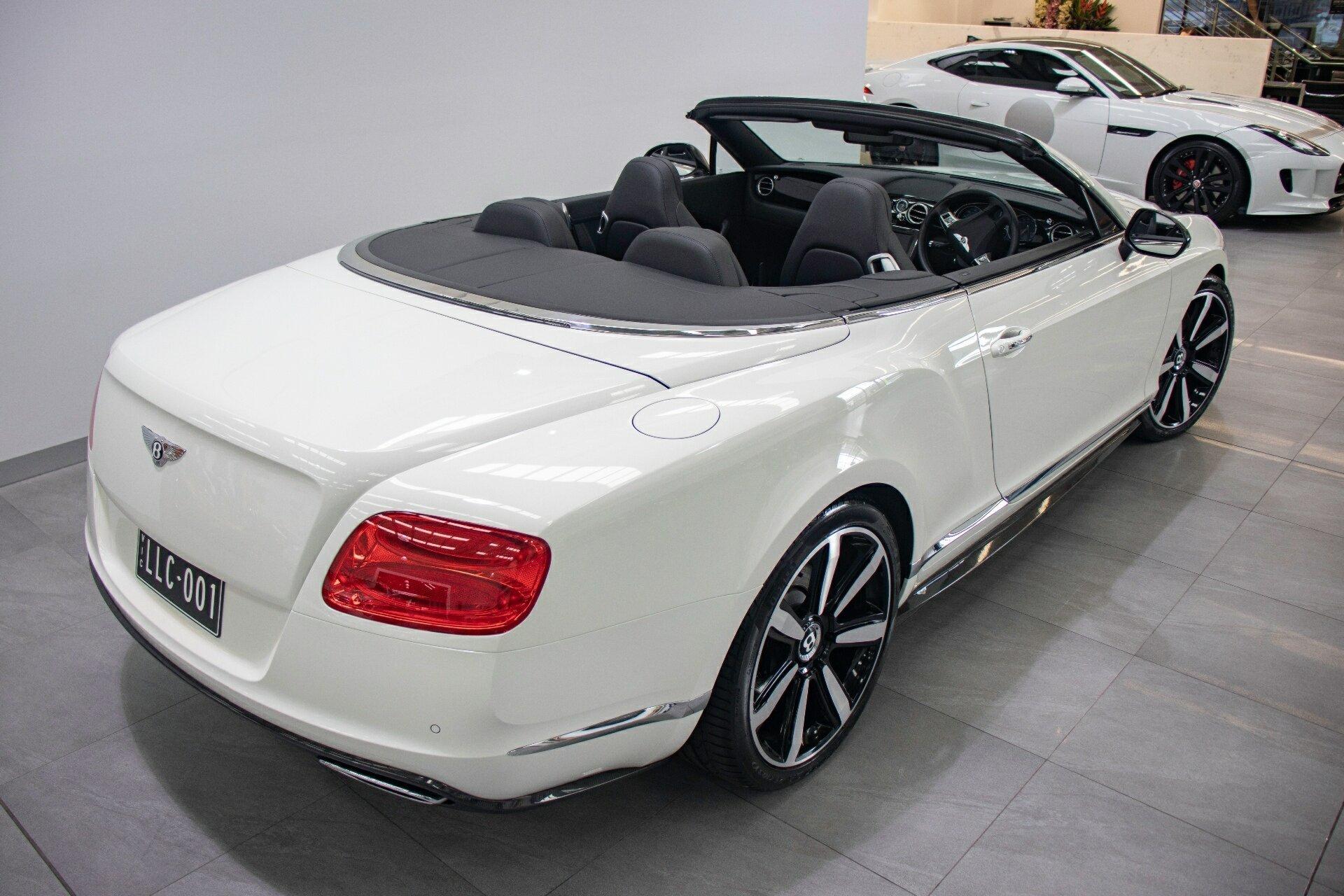 2012 Bentley Continental Gtc W12 3w My12