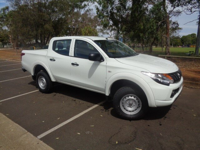 Demonstrator, Demo, Near New Mitsubishi Triton GLX Double Cab, Nailsworth, 2018 Mitsubishi Triton GLX Double Cab Utility