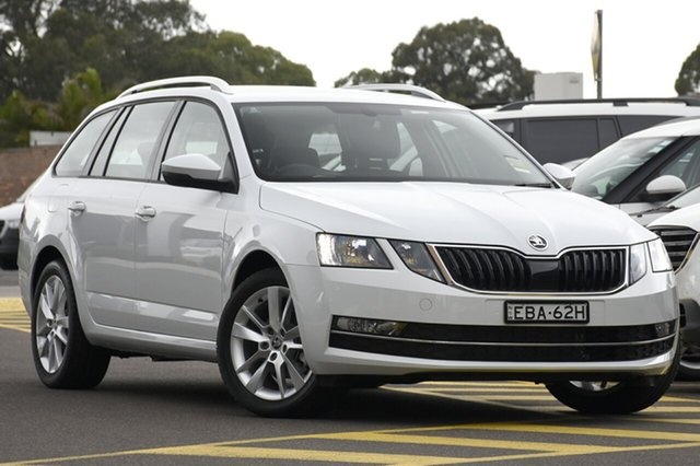 Discounted Demonstrator, Demo, Near New Skoda Octavia 110TSI DSG, Warwick Farm, 2018 Skoda Octavia 110TSI DSG Wagon